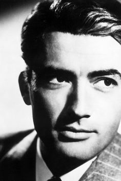 Gregory Peck  ~ April 5, 1916 – June 12, 2003 The most handsome man ever <3