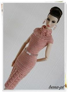 "Bena PL Clothes for Fashion Royalty FR2 Style Lab Body Dolls 12"" OOAK Outfit 