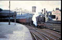 70050 Firth of Clyde leaving Glasgow St Enochs station