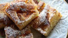 Eplekake i langpanne med kanel - Godt.no - Finn noe godt å spise Cake Bars, Recipe Boards, Tea Time, Cake Recipes, Sweet Tooth, French Toast, Muffins, Sweet Treats, Favorite Recipes