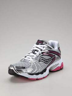 Saucony- Dr. King turned me onto these shoes. Love them!