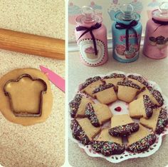 Benim cupcake kurabiyelerimm :)