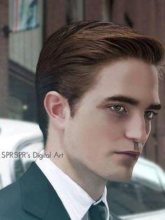 Fan Art: Robert Pattinson as Eric Packer