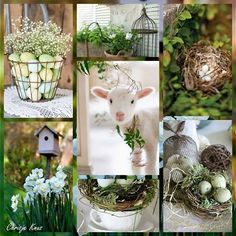 Collage of Beautiful Colors Collages, Decoupage, Happy Easter Everyone, Color Collage, Beautiful Collage, Photo Images, Gold Candles, Hello Spring, Christmas Countdown