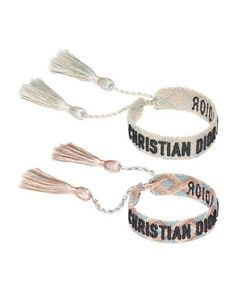 3163cdf128b8a Dior JAdior Set of Two Woven Bracelets