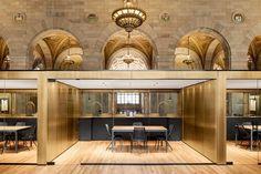 Crew Offices and Café | HENRI CLEINGE Architecte