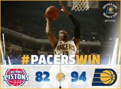 Another Pacer win!!