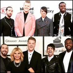 Pentatonix at the Billboard Music Awards May 2015/ at the Grammies February 2015 Aw Mitch staph