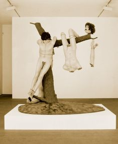 """Jake and Dinos Chapman Great Deeds! Against the Dead"""" 1994 Modern Version of Goya's, """"Great Deeds! Against the Dead"""", Jake And Dinos Chapman, Jake Chapman, Bad Art, Horror, Book Projects, Installation Art, Brother, Europe, Fine Art"""