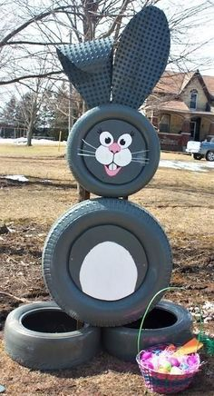 35 Creative DIY Ideas How To Reuse Old Tyres for Spring Using old tires for craf… 35 Kreative DIY-Ideen Wiederverwenden …