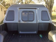 Ram - All Topics - sleeper cab - does any one have info where to get one of those little quarter shells seen one on here some where a while ago but no find any more would like to cut the back of cab out and make my own little mega cab [roll] Truck Camper Shells, Truck Bed Camper, Pickup Camper, Pickup Trucks, Camper Van, Truck Cap Camping, Motorcycle Camping, Truck Bed Slide, Slide In Camper
