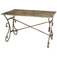 Dřevěný stůl ve venkovském stylu (35246)