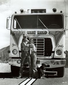 """""""The Blue Mule"""" 1974 Ford WT-9000 from the film """"White Line Fever"""" (1975)."""