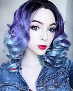 IT LOOKS AMAZING this wig is so beautiful on you @kuroechlo you are sooo pretty and stunning love it very much.. Thanks our sweet babe to show her Vintage Wavy Meets Fashion Color - Medium Length Synthetic Lace Front Wig. Wig SKU: SN19-TT1B/1303/4516 #sal