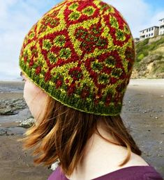 Ravelry: Kilim pattern by Kelly Forster Tapestry Crochet, Knit Crochet, Crochet Hats, Knitting Patterns Free, Free Knitting, Hat Patterns, Hue, Knitting Magazine, Knit In The Round