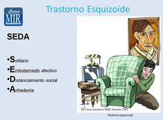 #Reglas Nemotécnicas - Trastorno Esquizoide - #Psiquiatría