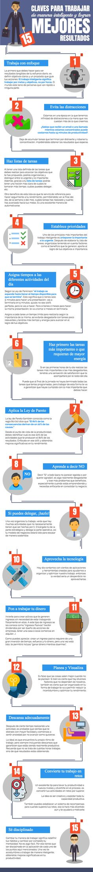 Trabaja inteligentemente y mejora tus resultados #infografia