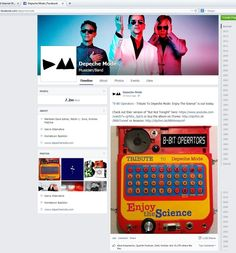Not sure if I mentioned, but Depeche Mode posted our tribute to them on Facebook and Twitter, and Martin and Vince helped personally approve the songs http://www.receptorsmusic.com/news.html