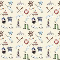 Nautical Pattern - Brooke Weeber