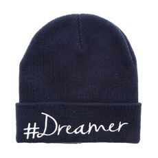 08da00a34c726 Navy Blue  Dreamer Knit Beanie Hat Gorras