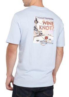 8371f5b251 Tommy Bahama Men s Wine Knot Tee - Blue - 2Xl Tommy Bahama