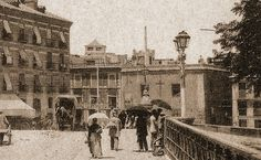 Murcia, Puente viejo y gente