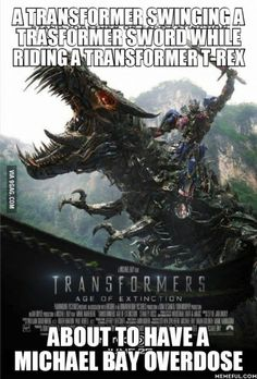 MICHAEL BAY OVERDOSE!!! Transformers: Age of Extinction