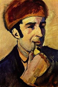 Portrait of Franz Marc