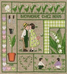 Welcome - May From Le Bonheur des Dames - Le Bonheur des Dames - Embroidery - Casa Cenina Beautiful but 37 euro? expensive!!