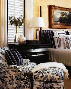 - Jack Fhillips Designer- Master Bedroom details in Brotish Colonial design
