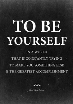 Always be yourself no matter what they say, Ralph Waldo Emerson. Inspirational quote poster from InstantQuotes.