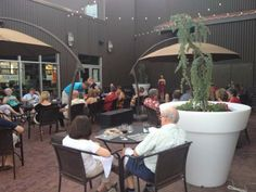 Barnard Griffin Wine Bar and Eatery Patio is Open!