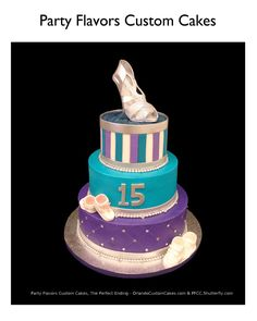 A Quince cake for the fashionista who loves shoes! #PartyFlavors