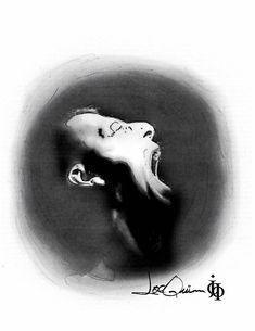 'Rage' by Joe Quinn Online Le Cri, Rage, Abstract, Artwork, Summary, Work Of Art