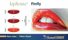 Color Combinations SeneGence Independent Distributor #389682 to order Email us at kissandtell389682@gmail.com
