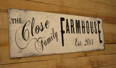 This is a wood sign that measures 30 x 12. The background is painted distressed ivory and wording is black.    Please note the following when