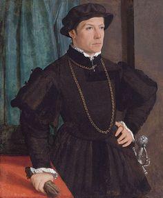 Portrait of Johann Jakob Fugger, 1541, Christoph Amberger, Augsburg, Bavaria, Germany