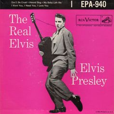 "Elvis Presley RCA Victor record ""Hound Dog/Don't Be Cruel"" in near mint condition. It has not been play tested. Elvis Presley Hound Dog, Elvis Presley Records, Lp Cover, Vinyl Cover, Cover Art, Music Album Covers, Music Albums, Rock And Roll History, I Need You Love"