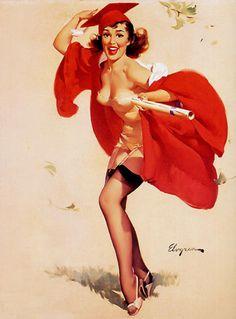 Mulheres como antigamente: Pin-ups de Gil Elvgren 2