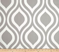Teardrop Grey Grommet Curtains  FREE by DesignerPillowShop on Etsy, $79.50