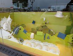 Hermès -  April 2013 - Monte  Carlo via retailstorewindows.com