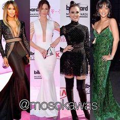 Mosokawas - Fashion Reviews Four Ladies Mosokawas Look: Best Dressed Red Carpet Billboard 2016! Photos: 1- @lavernecox wearing Michael Costello; 2- Kate Beckinsale wearing @hamelbymelinaharris; 3- @jessicaalba wearing @zuhairmuradofficial; 4- Rihanna wearing @driesvannoten #mosokawas #lookdodia #lookoftheday #moda #estilo #style #fashion #pinterest #billboard #redcarpet #zuhairmurad #jessicaalba #lavernecox #michaelcostello #katebeckinsale #hamelbymelinaharris #BBMAs #rihanna #driesvannoten