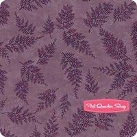 The Potting Shed Violet Ferns  Yardage SKU# 6624-16