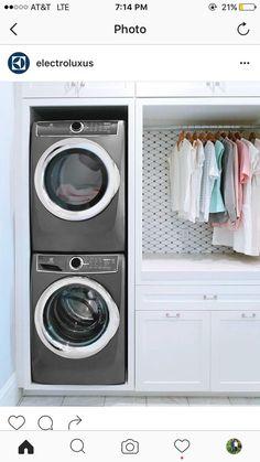 7 Small Laundry Room Design Ideas - Des Home Design Tiny Laundry Rooms, Mudroom Laundry Room, Laundry Room Layouts, Laundry Room Remodel, Laundry Room Design, Laundry In Bathroom, Laundry Room Organization, Laundry Storage, Storage Shelves
