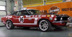 1969 ford mustang boss 302 trasn am race car 16