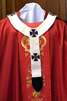 Buy pallium vestment online with us and stay comfortable in every weather and conditions at the church or outside. Shop now and enjoy free delivery.
