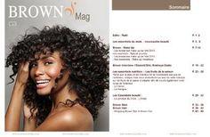 """Le e-magazine gratuit de la box beauté Brown Essentielles, disponible tous les 2 mois, pour toutes! """"Exprimer la beauté de toutes les femmes est essentiel"""""""