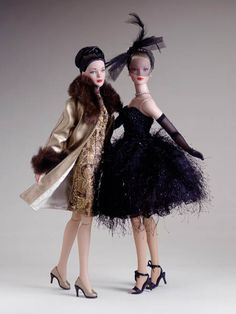 Tyler Wentworth Dreamcastle Dolls  Ensemble d'or and Cygne Noir