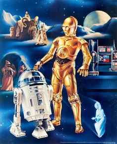 1978 Proctor and Gamble Star Wars posters by Ken Goldhammer