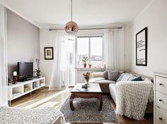 TRÊS STUDIO ^ blog de decoración nórdica, chic, casual y reformas in-situ y online^: Inspiración Deco: BLANCO Y GRIS en un apartamento de inspiración nórdico